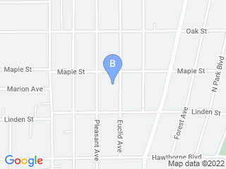 Map of Lucky Paws Guest House Dog Boarding options in Glen Ellyn | Boarding